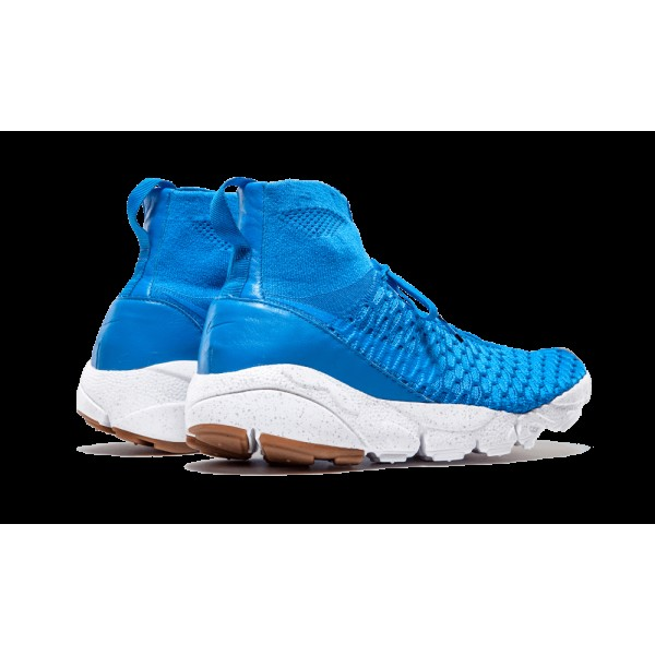 Nike Air Footscape Magista SP Photo Bleu/Summit Blanche Homme 652960-441