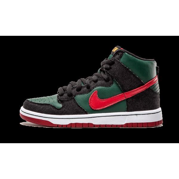 "Homme Nike Dunk High Premium SB ""Goochie""..."