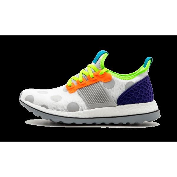 Adidas Pure Boost ZG Kolor Blanche/Multicolore BA9...