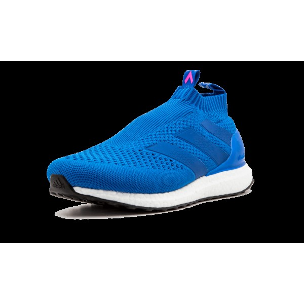 Adidas Ace 16+ Purecontrol Ultra Boost BY9090 Bleu Shock Rose