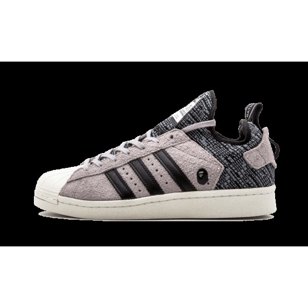 Adidas SuperStar NH BAPE Solid Gris/Blanche CG2917
