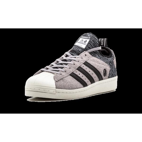 Adidas SuperStar NH BAPE Solid Gris/Blanche CG2917