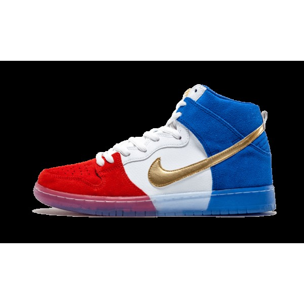 Nike Dunk High Premium SB Challenge Rouge/Game Roy...