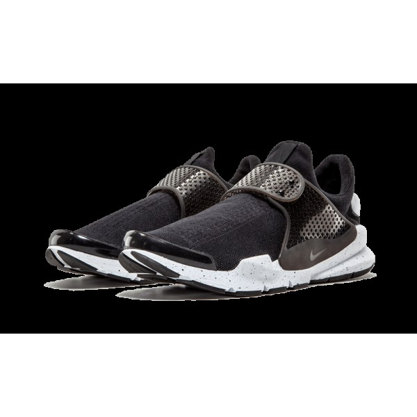 Nike Sock Dart SE Noir Blanche Chaussures de running pour Homme 833124-001