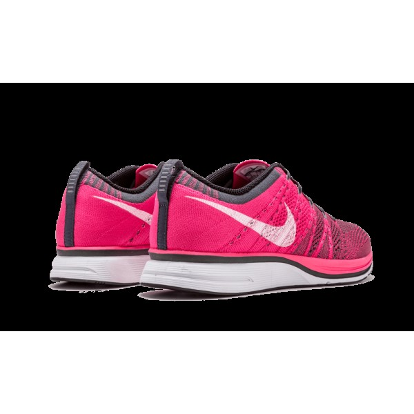 "Nike Flyknit Chaussure ""Rose Flash"" Rose Flash/White-Gris foncé 532984-611"