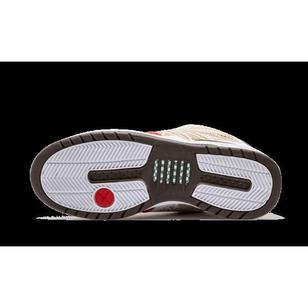 312953-111 Nike Paul Rodroguez Zoom Air Elite Prod 1 Cinco De Mayo Blanche Rouge