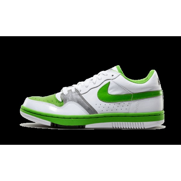 Nike 314191-131 Court Force Low Blanche Vert Bean ...