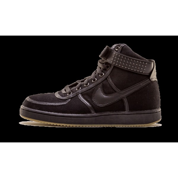 306323-001 Nike Vandal High Canvas Noir Chrome Jim...