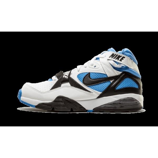 Nike Air Chaussure Max 91 Blanche/Noir/Bleu 309748...