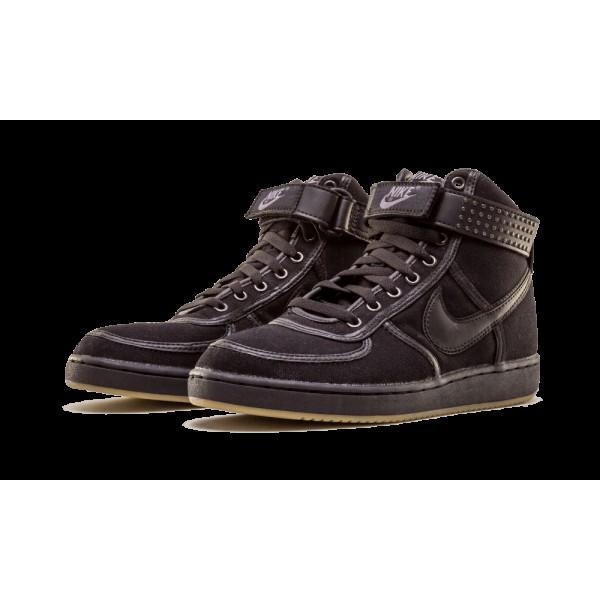 306323-001 Nike Vandal High Canvas Noir Chrome Jim Morrison