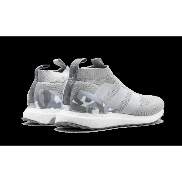 "Adidas Ace 17+ Purecontrol Ultra Boost ""Snow Camo"" Gris BY9089"