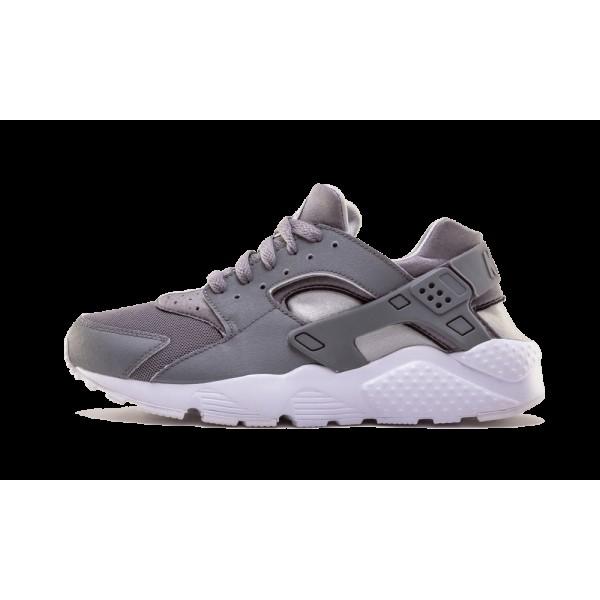 Nike Huarache Run Cool Gris 654275-012 Grade Schoo...