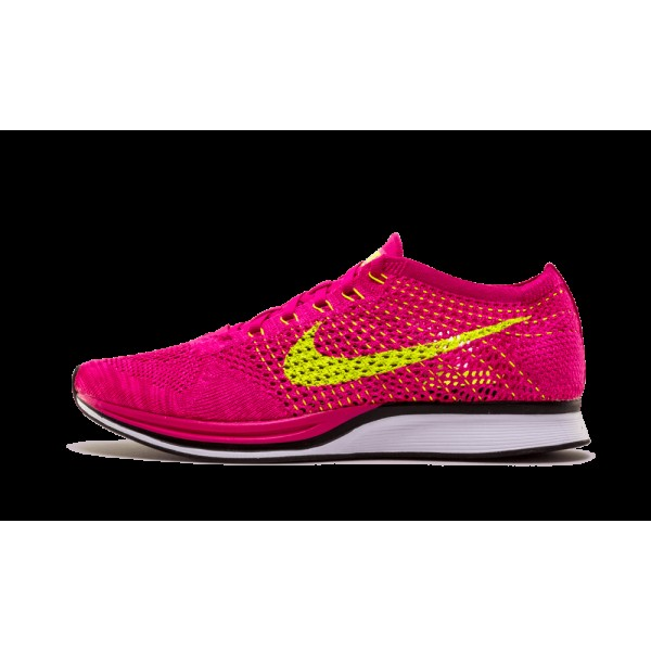 Nike Flyknit Racer 526628-607 Fireberry/Flash rose...