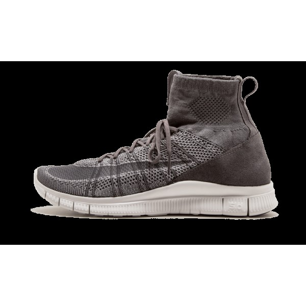 Nike Free Flyknit Mercurial Gris foncé Wolf Gris