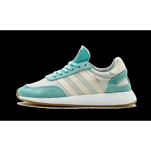 Adidas Iniki Runner Femme Tan/Teal BA9994
