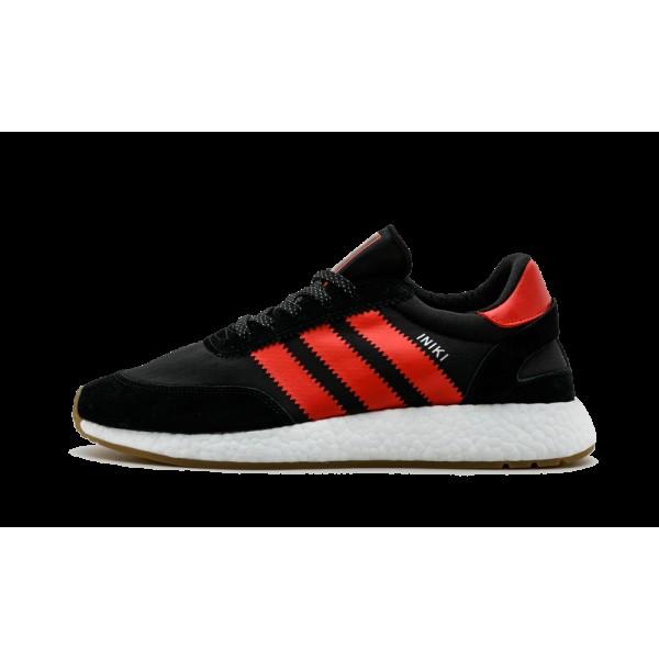 Adidas Iniki Runner Noir/Rouge/Blanche S81010