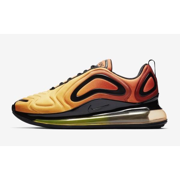 "Nike Air Max 720 ""Sunset"" Jaune Rouge Or..."