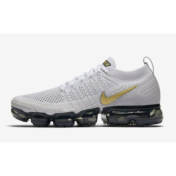 Nike Air VaporMax 2.0 Vast Gris Metallic Gold Chau...