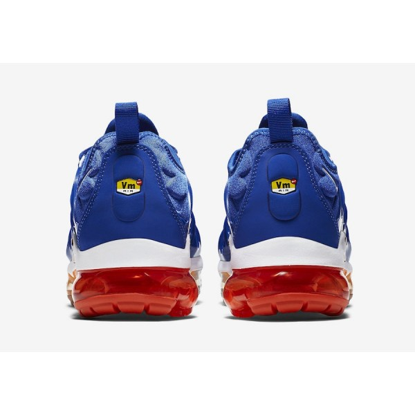 Nike Air VaporMax Plus Game Royal Total Orange Chaussures Homme 924453-403