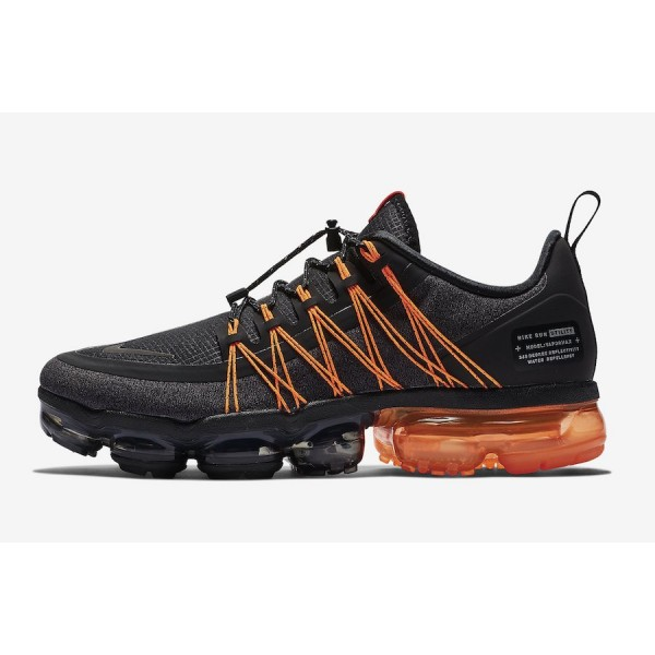 Nike Air VaporMax Utility Noir Orange Chaussures H...