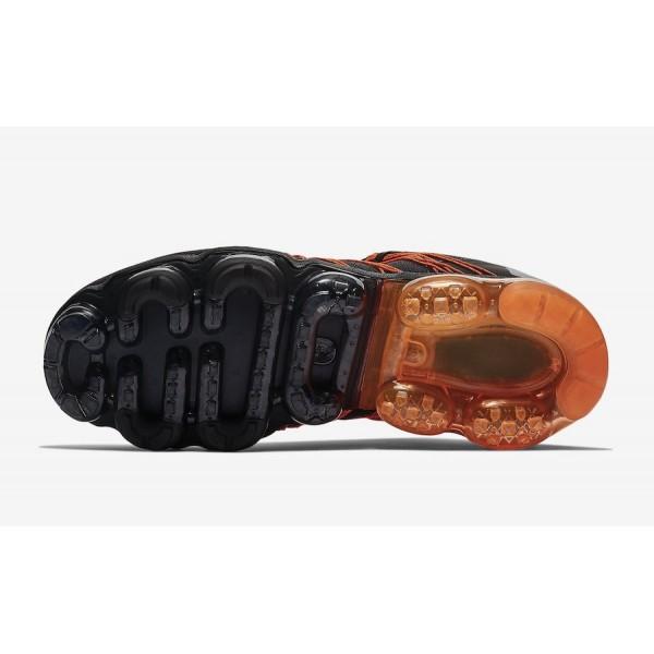 Nike Air VaporMax Utility Noir Orange Chaussures Homme AQ8810-005