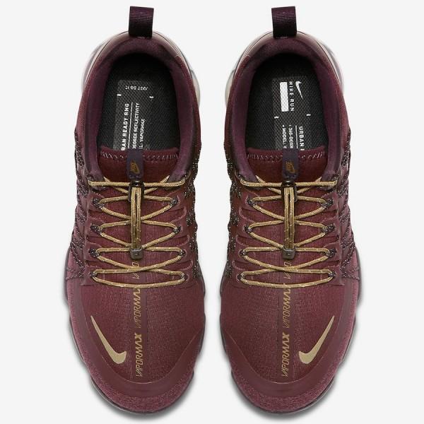Nike Air VaporMax Utility Burgundy Crush Chaussures Femme AQ8811-600