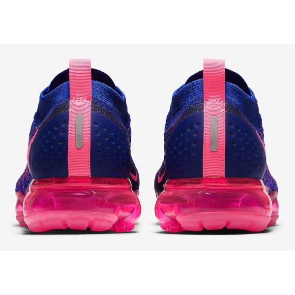 Nike Air VaporMax 2.0 Racer Rose Racer Bleu Chaussures Femme 942843-601