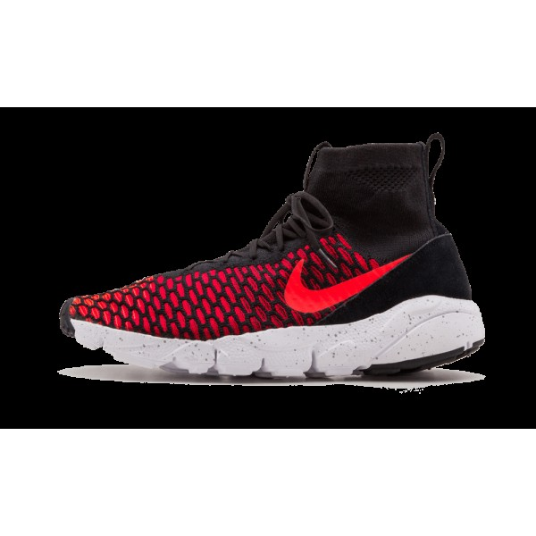 Nike Air Footscape Magista Flyknit Noir/Bright Cri...