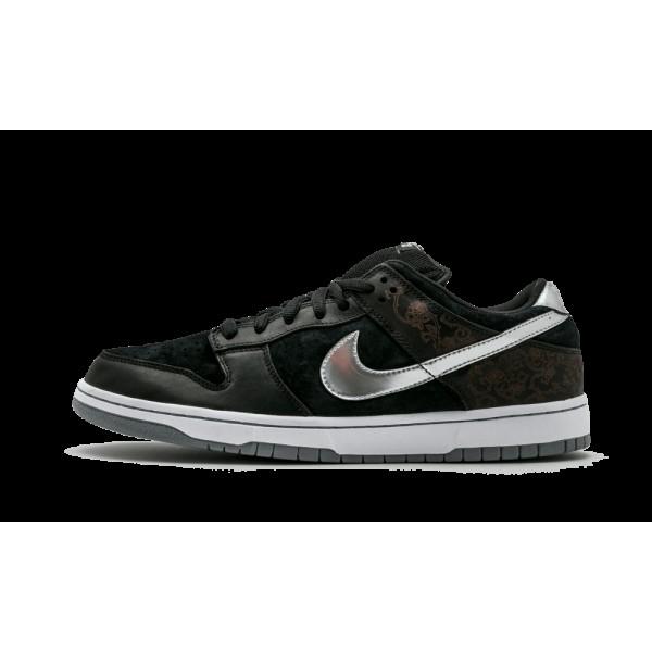 Nike SB Dunk Low Premium Takashi Noir Argent 31317...
