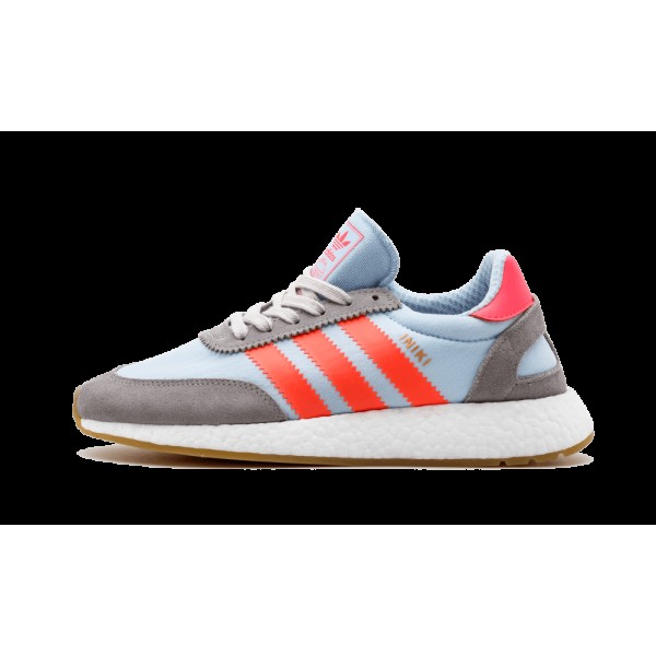 Adidas Iniki Runner Charcoal/Gris/Turbo Rouge BB20...