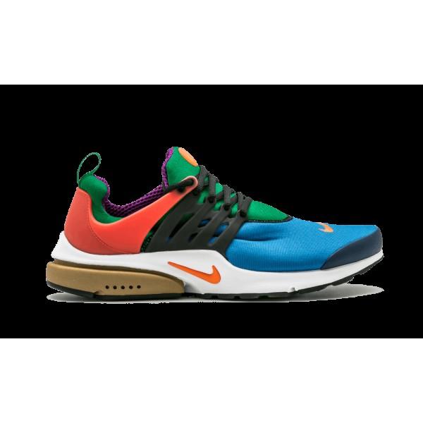 Nike Air Presto QS Star Bleu/Orange Blaze/Noir/Pine Vert 886043-400
