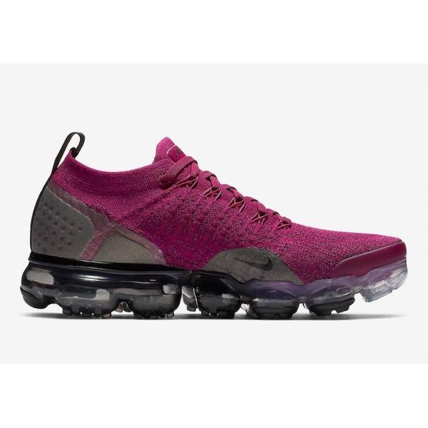 Nike Air VaporMax 2.0 Pourpre Gris Chaussures Femme 942843-603