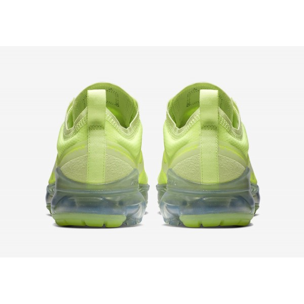 Nike Air VaporMax 2019 Volt Glow Spruce Aura Chaussures Homme AR6632-700