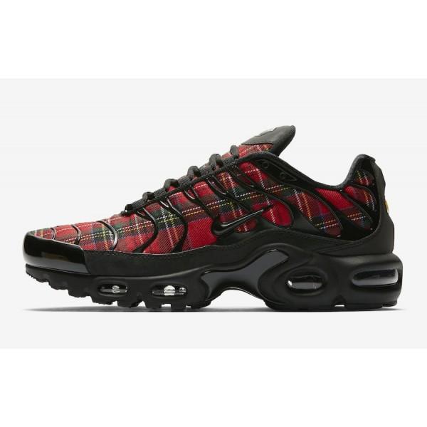 Nike Air Max Plus Noir University Rouge Chaussures...