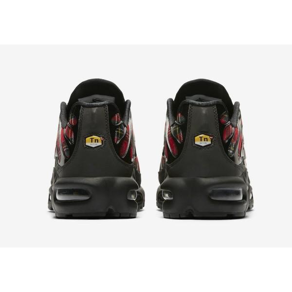 Nike Air Max Plus Noir University Rouge Chaussures Femme AV9955-001