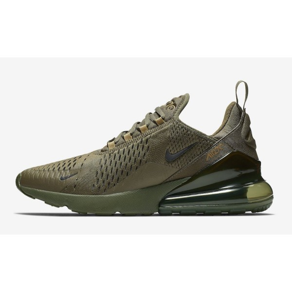 Nike Air Max 270 Triple Olive Chaussures Homme AH8...