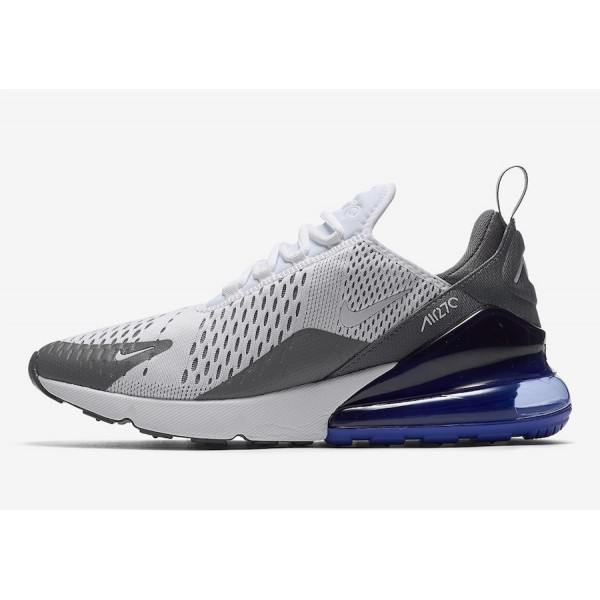 Nike Air Max 270 Blanche Persian Violet Chaussures...