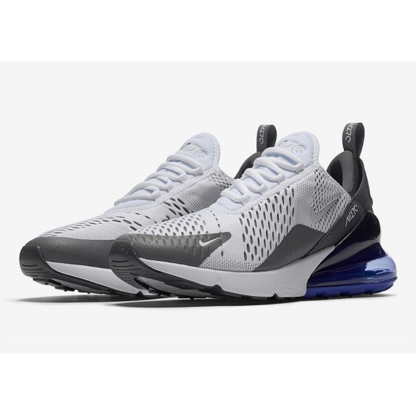 Nike Air Max 270 Blanche Persian Violet Chaussures Homme AH8050-107