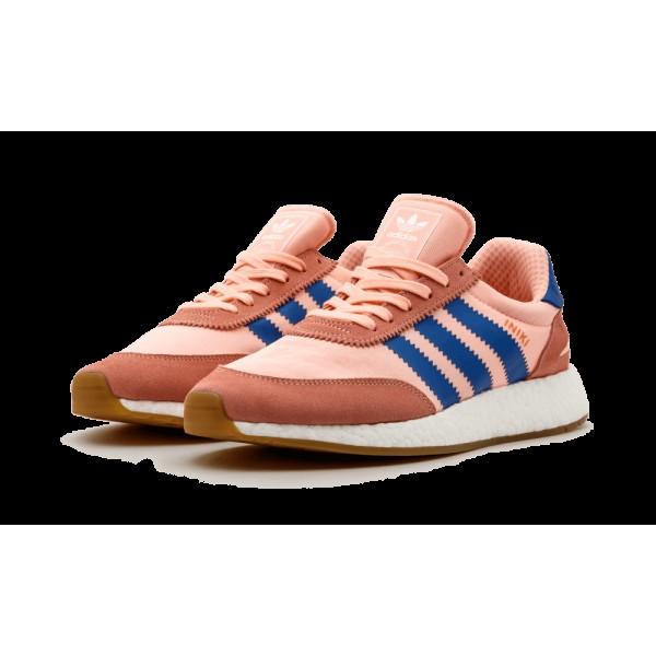 Adidas Originals Femme Iniki Runner Haze Coral Rose Bleu Gencive BA9999