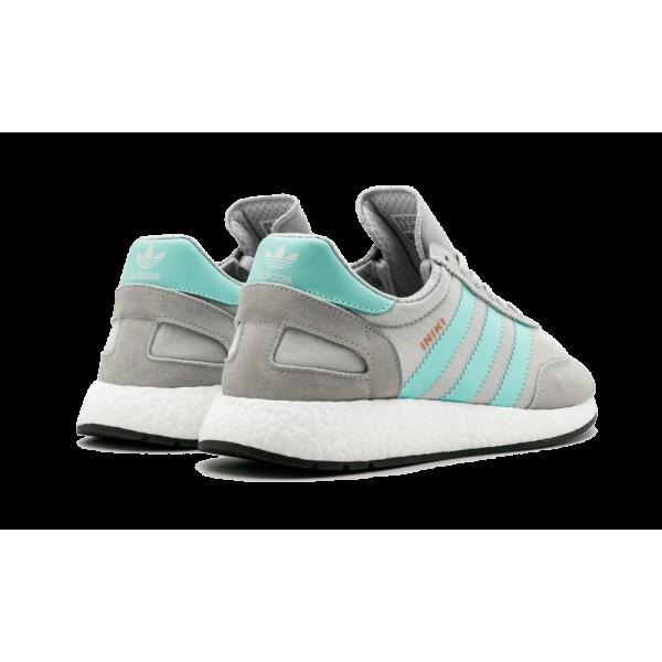 Adidas Iniki Runner Solid Gris/Easy Vert/Noir BB2747