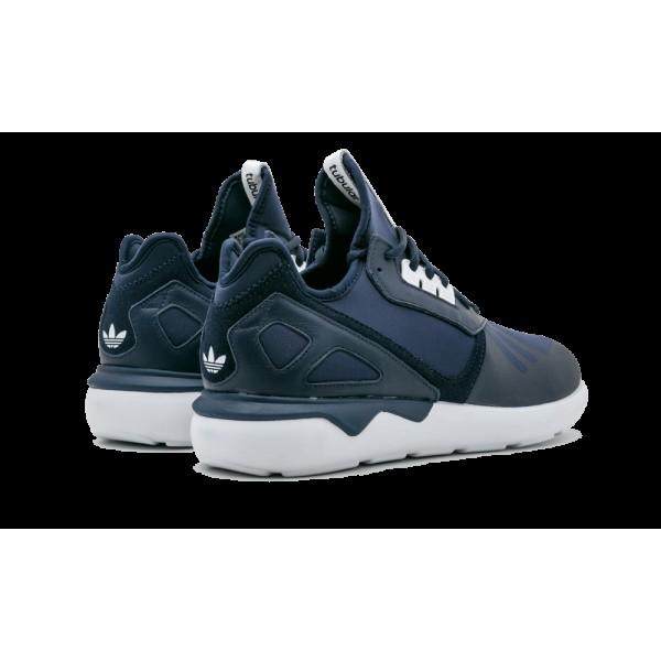 Adidas Tubular Runner Marine Bleu Blanche Chaussures de Homme B41273