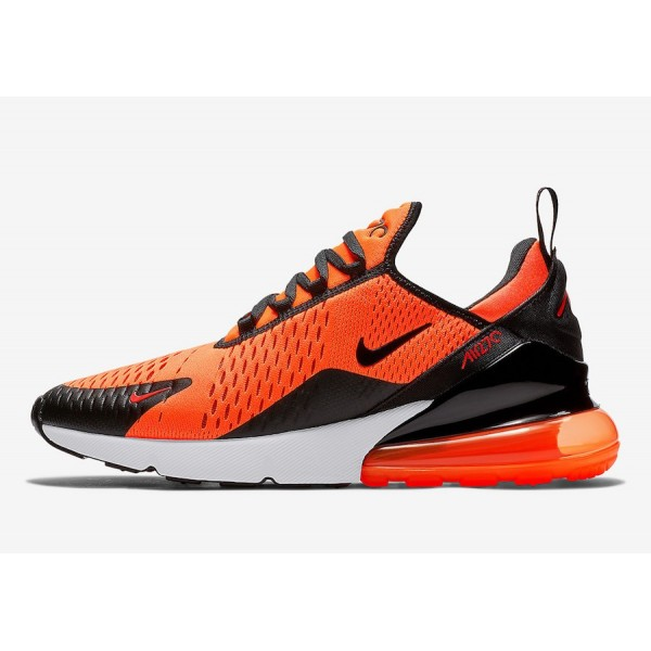"""Nike Air Max 270 """"Phillippines"""" Total Orange Blanche Chaussures Femme AH6789-105"""