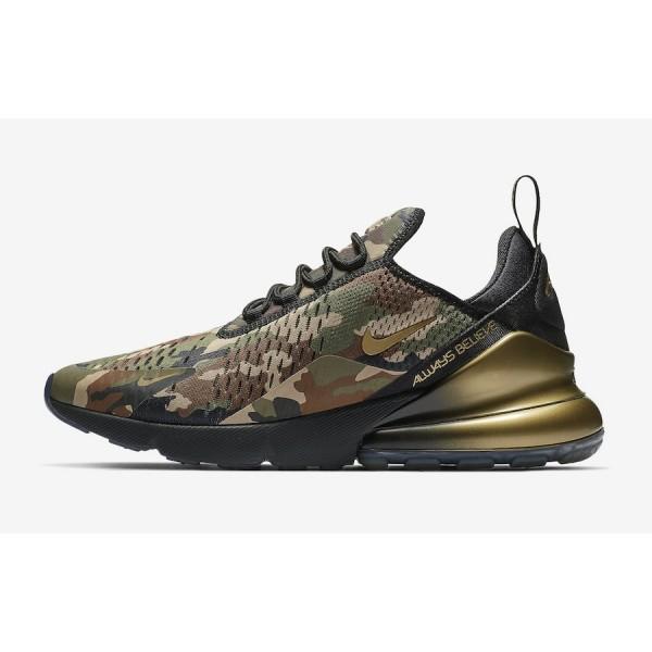 Nike Air Max 270 Doernbecher Noir Olive Chaussures...