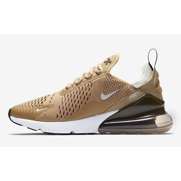 Nike Air Max 270 Elemental Gold Blanche Chaussures Homme AH8050-700