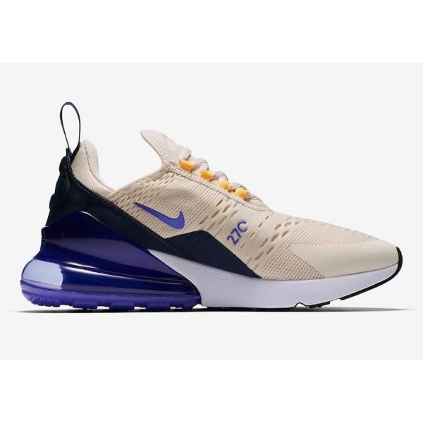 """Nike Air Max 270 """"Mowabb"""" Light Bone Pourpre Chaussures Femme AH6789-202"""