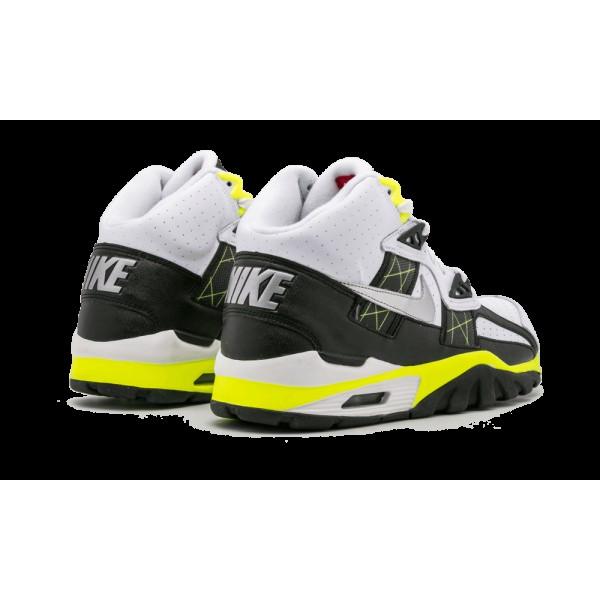 Nike Air Chaussure SC Blanche/Noir/Volt 302346-123