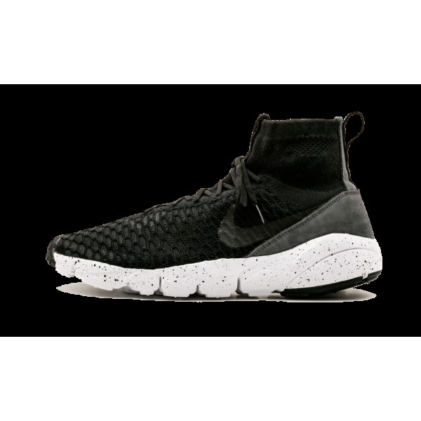 Nike Air Footscape Magista Flyknit 816560-003 Limited Noir Gris Volt
