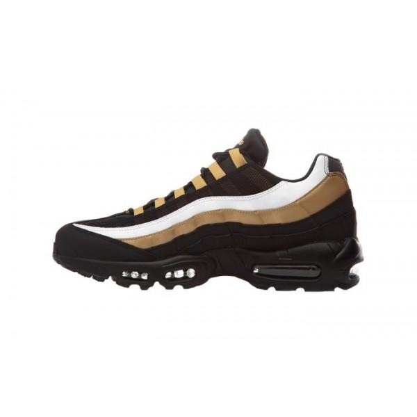 Nike Air Max 95 Noir Metallic Gold Chaussures Homm...