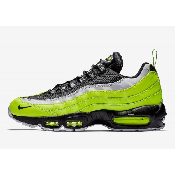 Nike Air Max 95 Barely Volt Blanche Chaussures Hom...