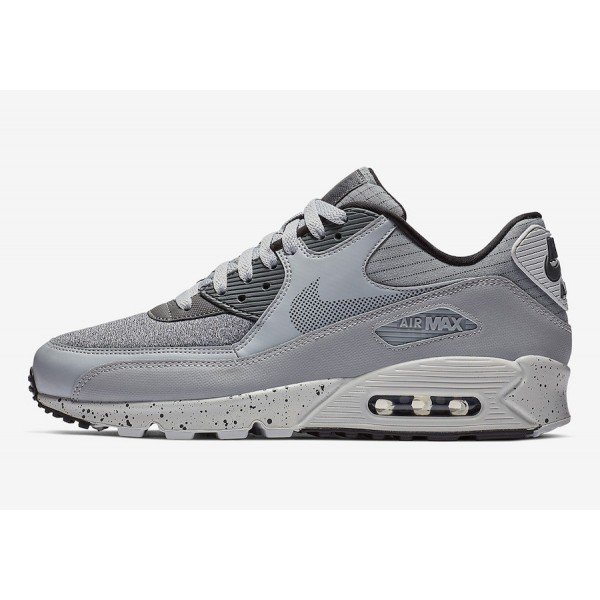 Nike Air Max 90 Premium SE Wolf Gris Pure Platinum Chaussures Homme 700155-016